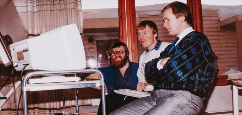 Les frères Blakseth, fondateurs d'Element Logic