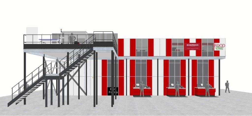 FoodOase automatise son entrepôt grâce à AutoStore installé par Element Logic