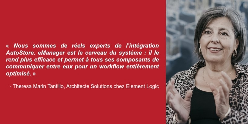 Theresa Marin Tantillo, Architecte Solutions chez Element Logic