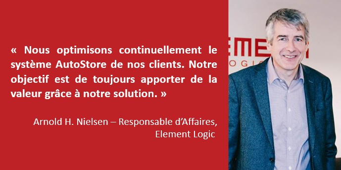 Arnold Nielsen - Responsable d'Affaires chez Element Logic