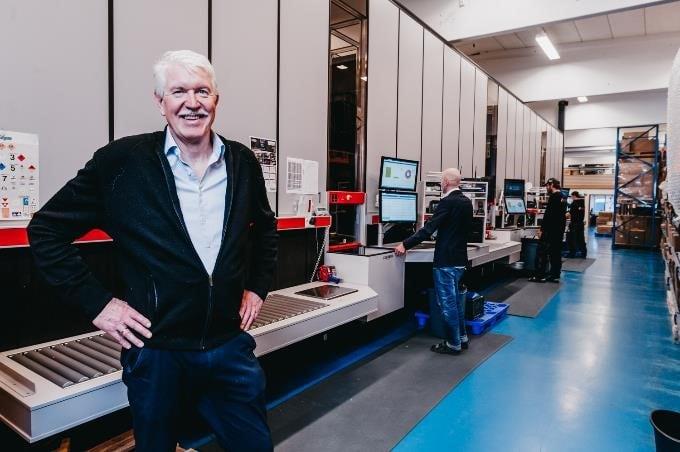 Jan Kleven, Directeur Général d'Elotec