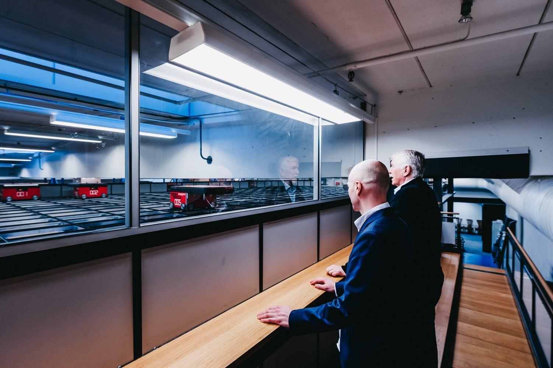La solution AutoStore d'Elotec est protégée par Elotec Aspect