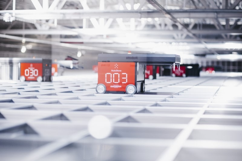 eOperator d'Element Logic optimise AutoStore