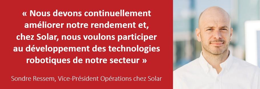 Element Logic - Sondre Ressem, Vice-Président Opérations chez Solar